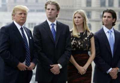 Donald Trump, Ivanka Trump, Eric Trump, Donald Trump Jr. - | The Economic Times