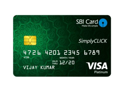 SBI Card Launches SimplyCLICK: A Credit Card for the Generation that is Always Online - The ...