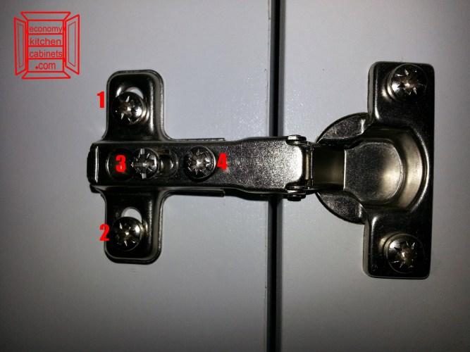 how to adjust a european cabinet door hinges kitchen cabinet door hinges How to Adjust European Cabinet Door Hinges
