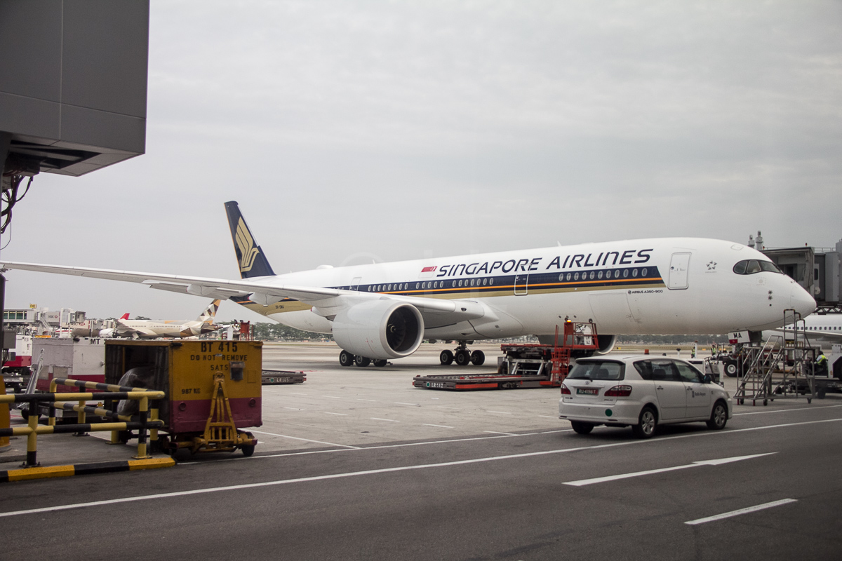 Amsterdam Naar Singapore Singapore Airlines A350 First Flight To Amsterdam Economy