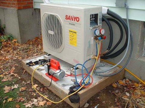 Diy Sanyo Air Source Heat Pump Install Pressure Testing