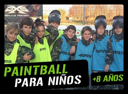 Ecosport Granada paintball kid1
