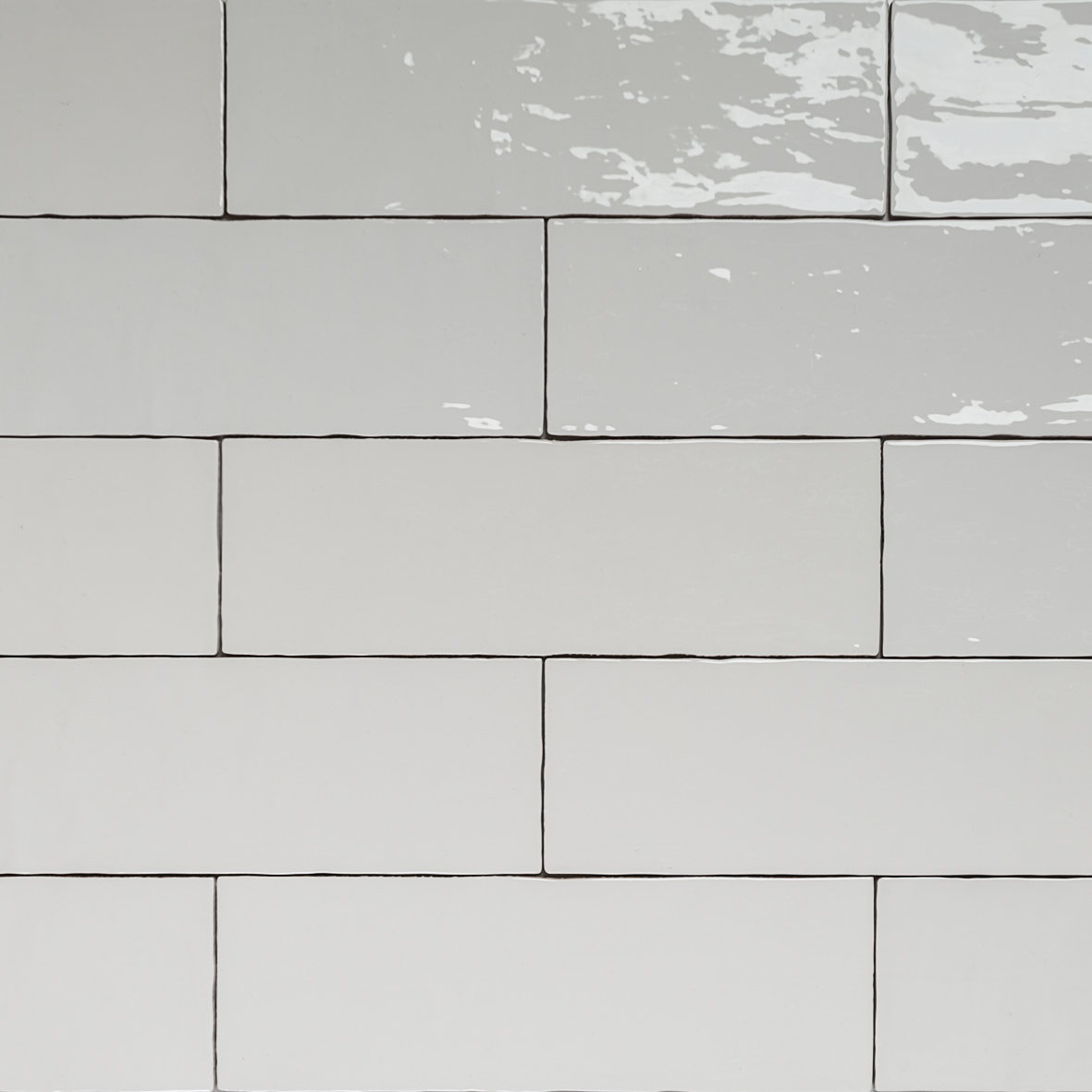Weiße Fliesen Handmade White Gloss Natura Wall Subway Tiles 396130 In