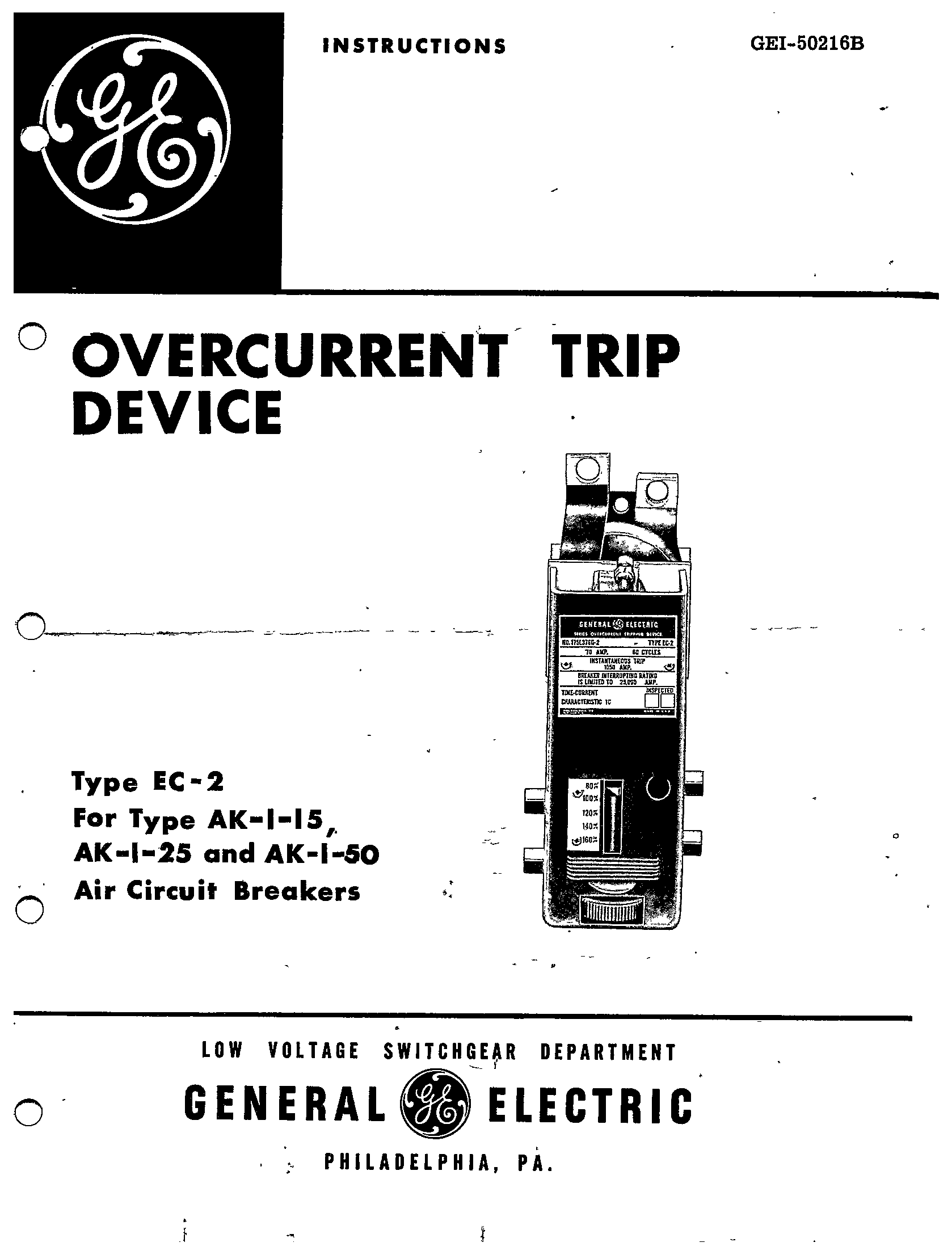 abb overcurrent relay