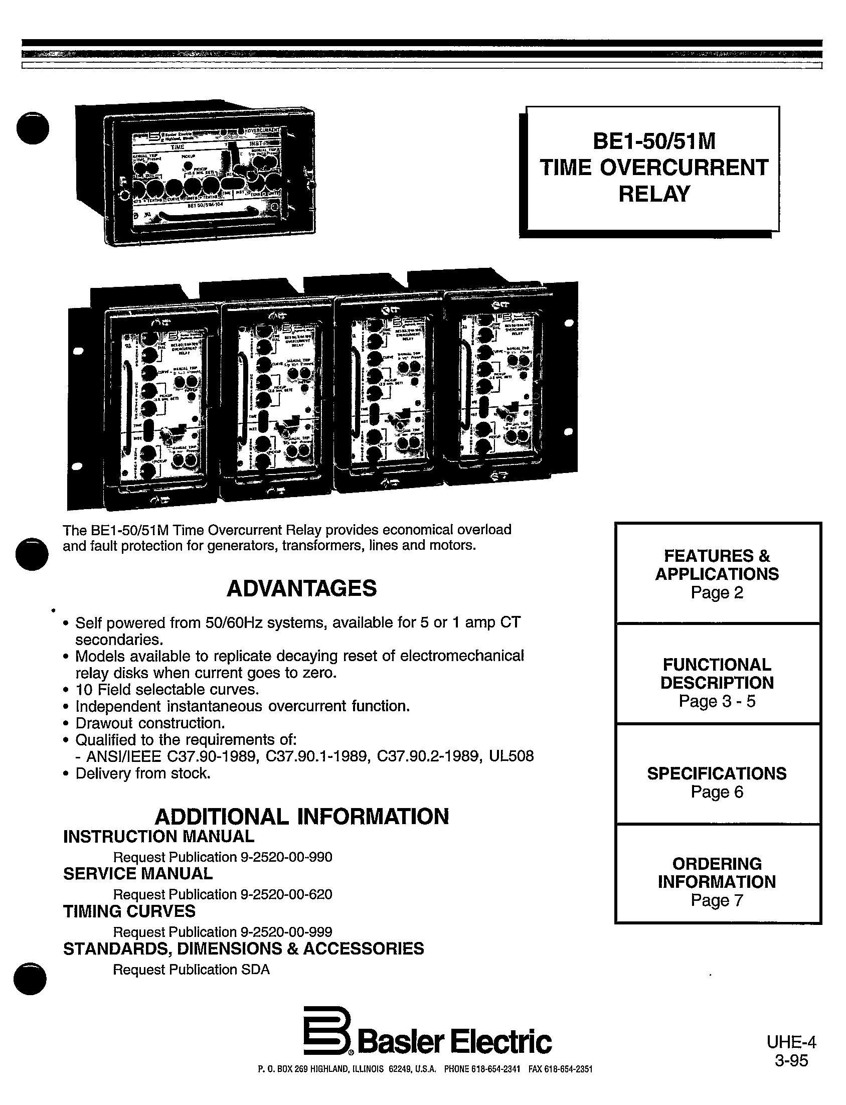 overcurrent relay price