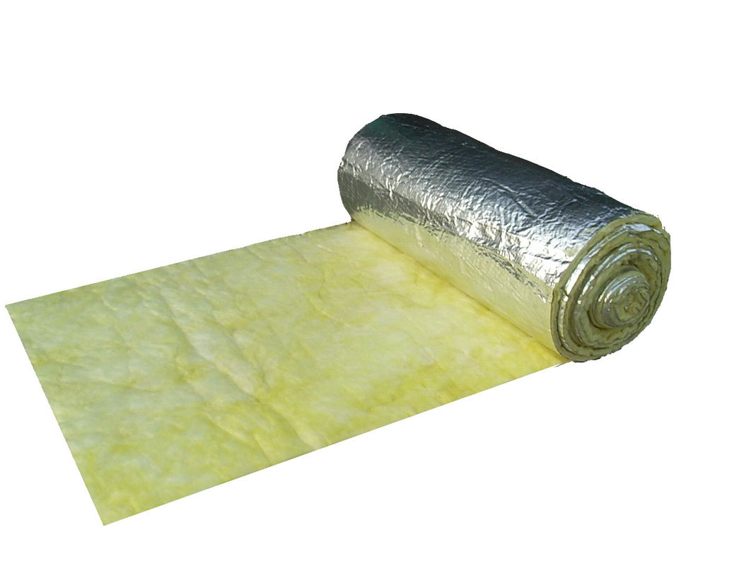 Foil Insulation Blanket Fiber Glass Wool Blanket Faced With Aluminum Foil Global Trade