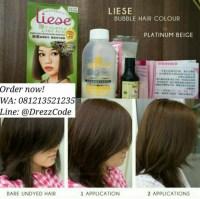 Jual Liese Prettia Bubble Hair Color - Platinum Beige ...