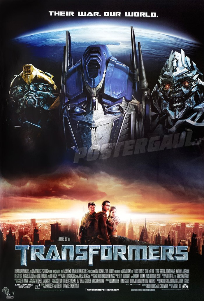 Rumah Min Jual Poster Transformers - Original Indonesian One Sheet