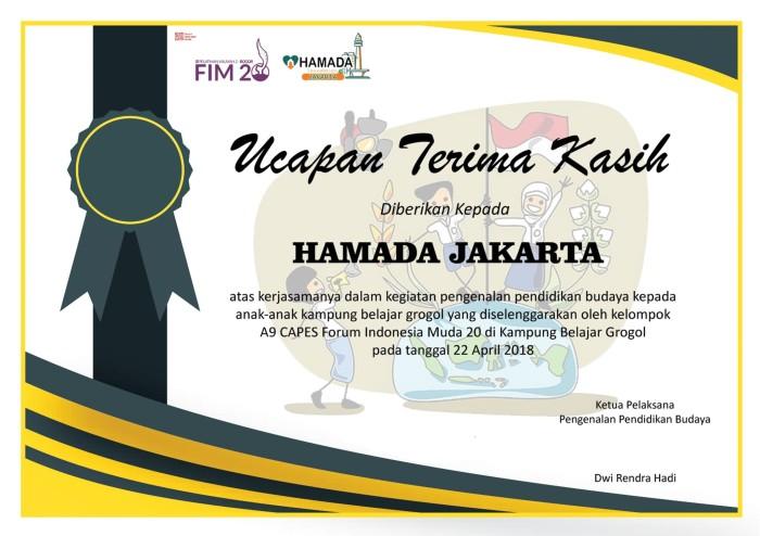 Jual Desain sertifikat/ Design untuk sertifikat - DKI Jakarta - Omah