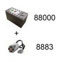 Jual Lego 88000 AAA Battery Box + 8883 M-Motor (Power ...