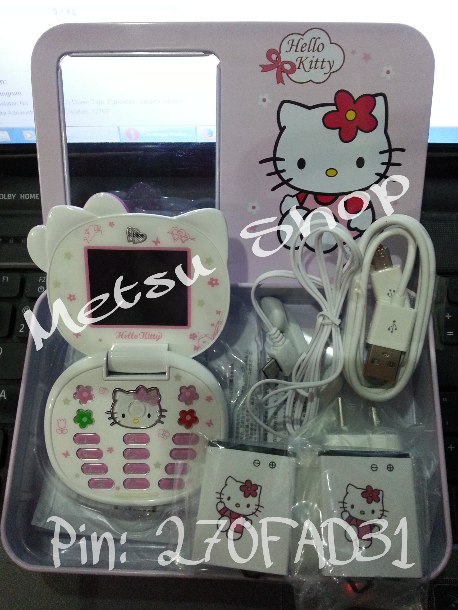Lihat Rumah Hello Kitty Jual Hp Kepala Kitty Handphone Fashion Hello Kitty Hk