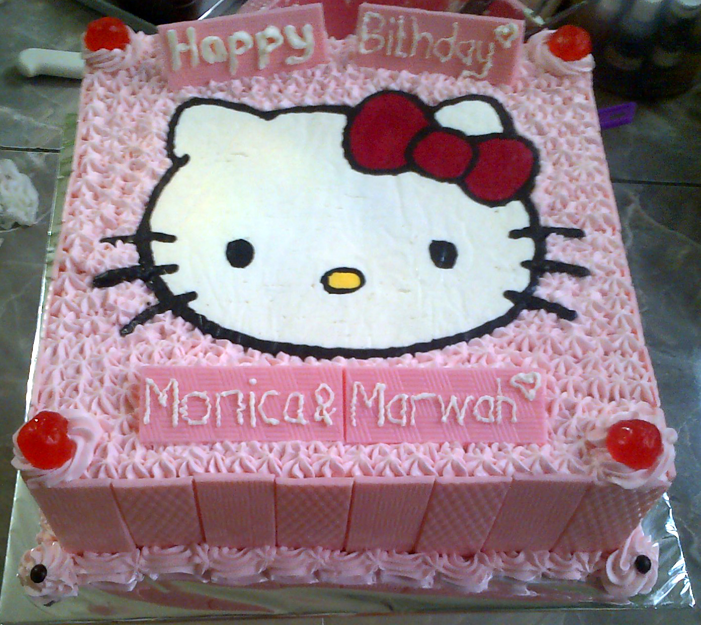 Lihat Rumah Hello Kitty Jual Rainbow Cake Karakter Hello Kitty Md 39c Collection