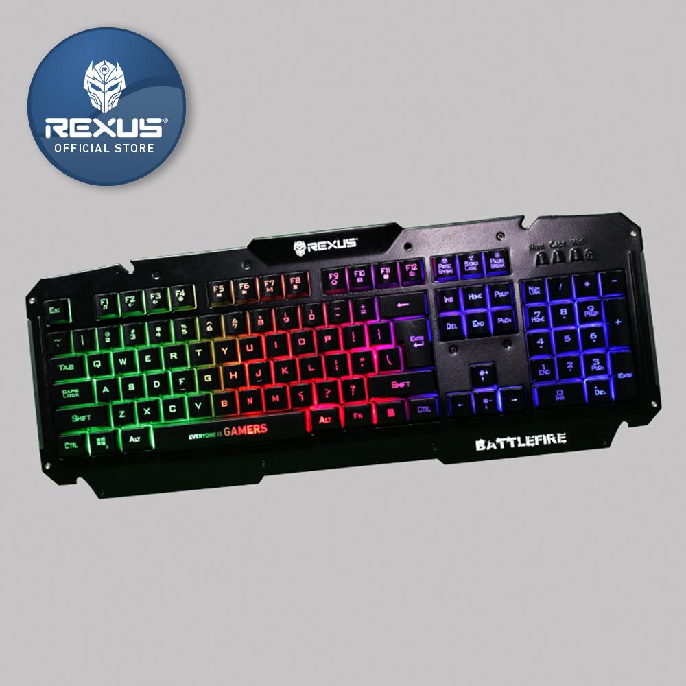 Daftar Harga Keyboard Gaming Oktober 2018 Mantap Dah Predator Mt K9340 Semi Mechanical Rexus Battlefire K9d