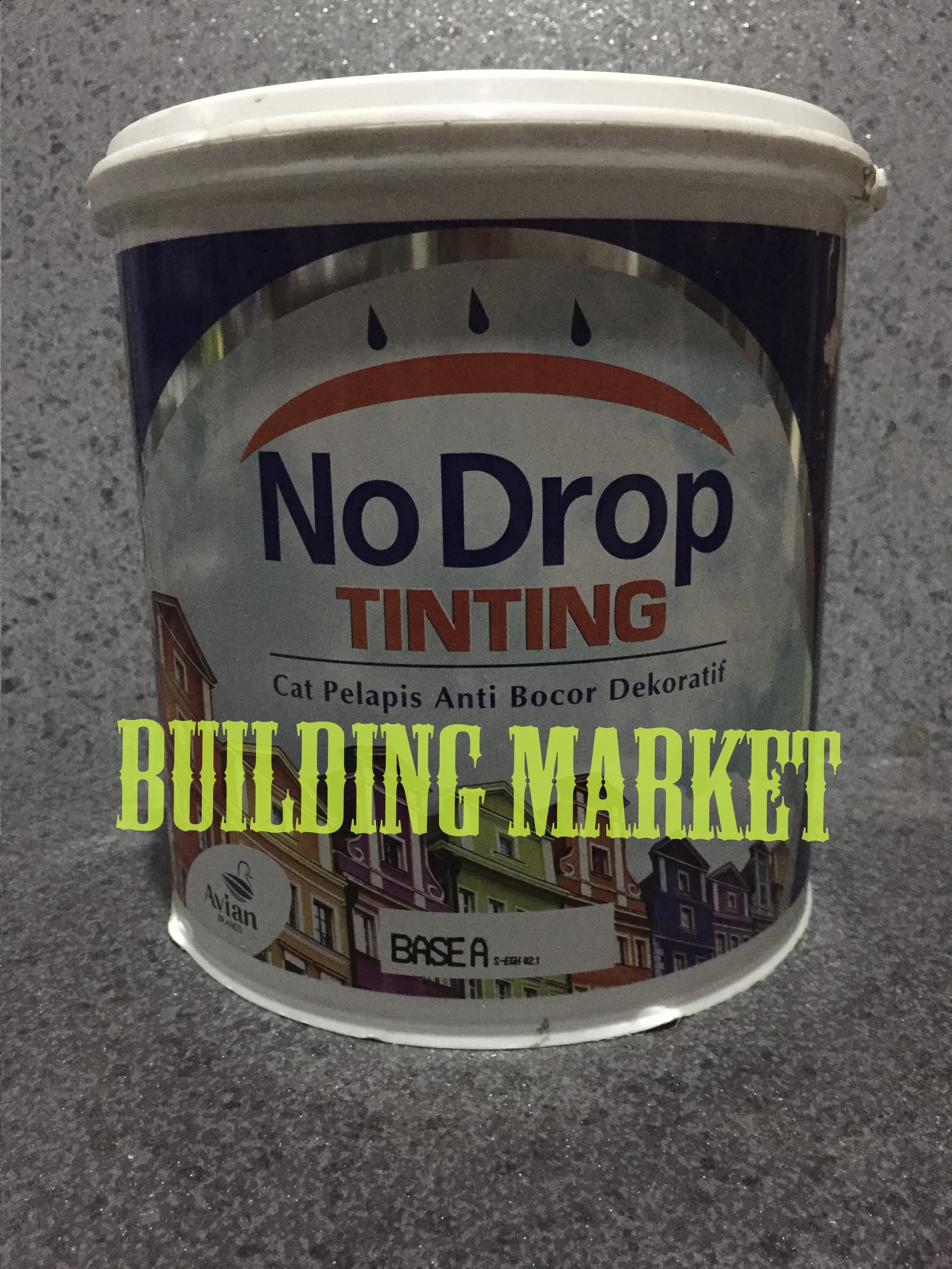 Harga Cat No Drop 2018 Jual Cat Tembok No Drop Waterproofing Tinting 4 Kg Warna Tua