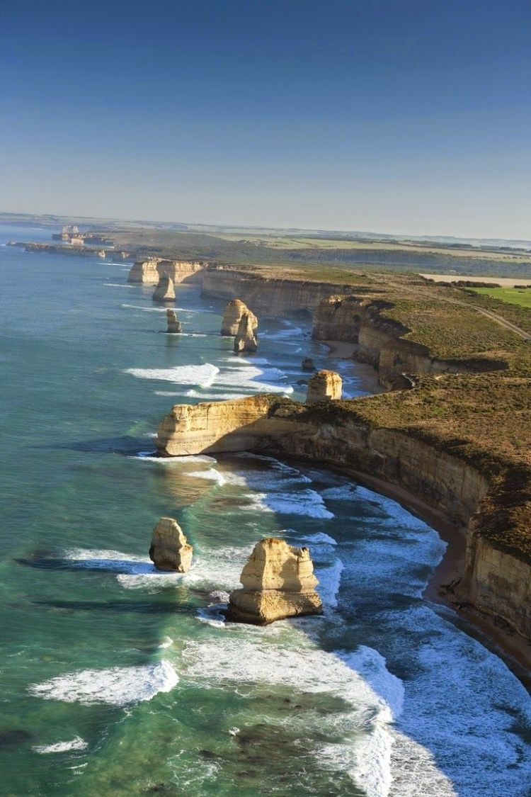 Ard The Spectacular Scenery Of The Great Ocean Road Australia