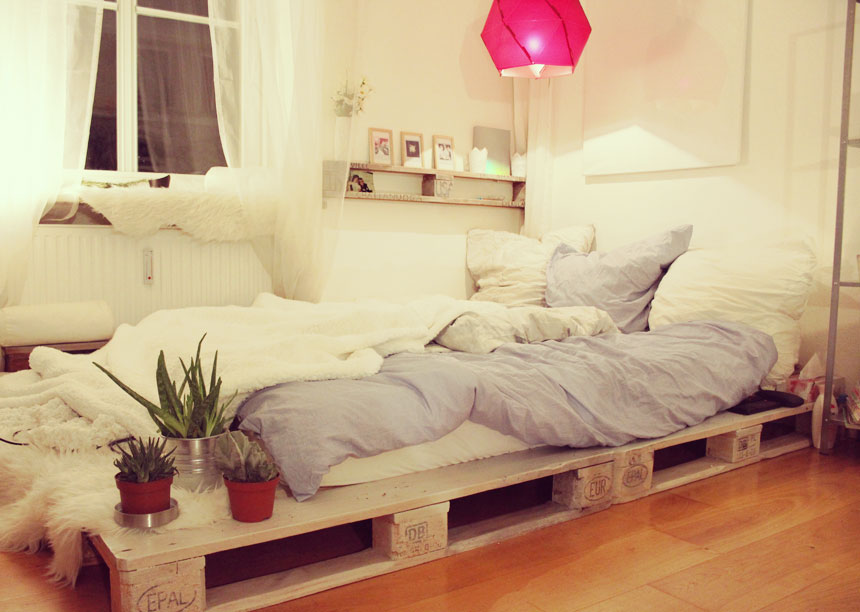 Couch Selber Bauen Mit Paletten 40 Creative Wood Pallet Bed Design Ideas - Ecstasycoffee