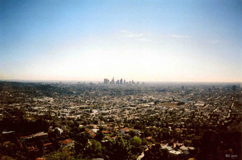 View of Downtown from Griffith Park