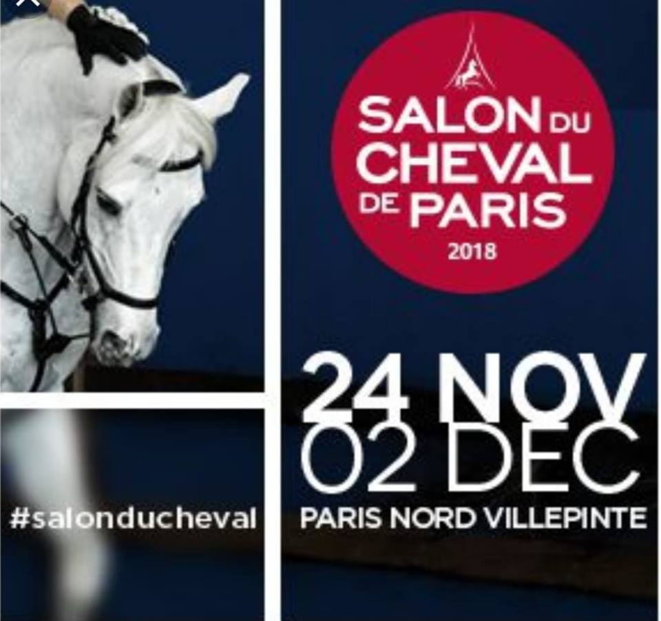 Salon Du Cheval A Paris Centre équestre 95 Salon Du Cheval édition 2018 Écurie Val Fleuri