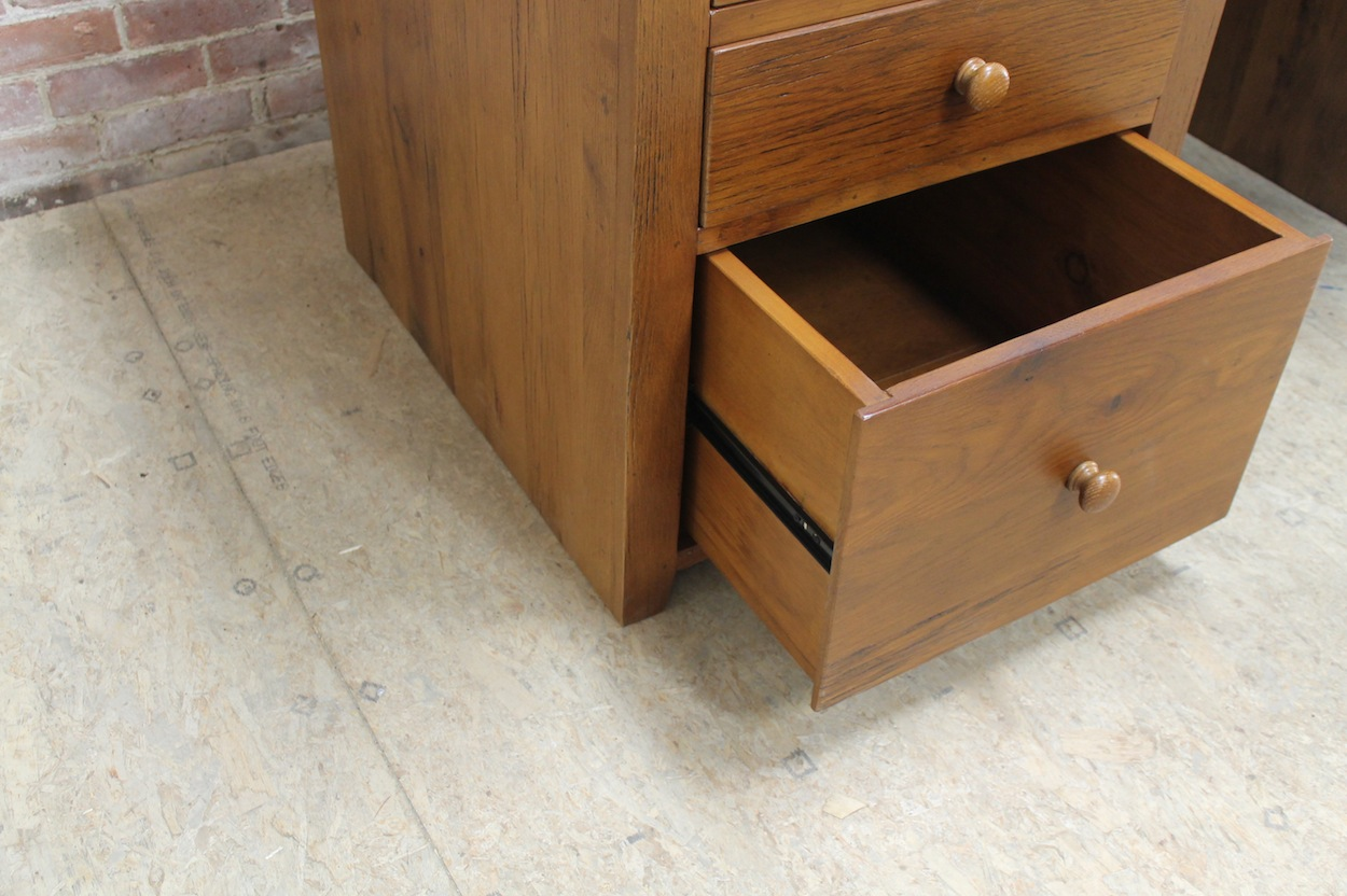 Salvaged Kitchen Cabinets For Sale Desk With Hide Away Printer/file Drawer - Ecustomfinishes