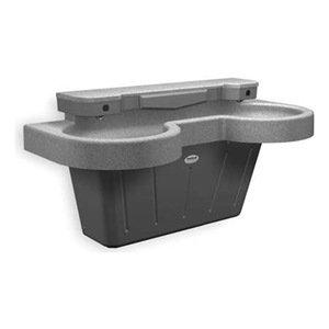 Bradley Ss 2n Ir Nsd Wh Tma Lavatory Two Sink Station