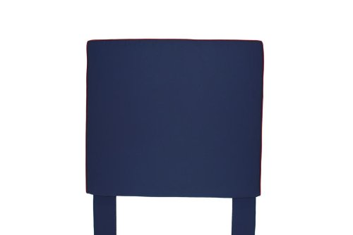 Image of Southeastern Kids Square Headboard Navy and Brick Red (1002/0211)