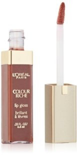 L'oreal Colour Riche Gloss, Rich Nude, 0.23-Fluid Ounce (Pack of 5) $5.93 (reg. $6.99) jungledealsblog.com