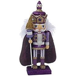 Kurt S Adler, HA0245B, Purple Royal Nutcracker