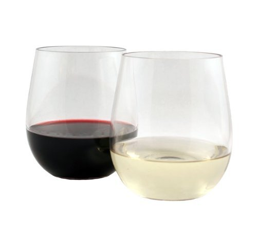 WineTanium Stemless Wine Glass These shatterproof wine glasses are great for RVing. Elegant enough to not feel like you're sipping from a plastic cup.