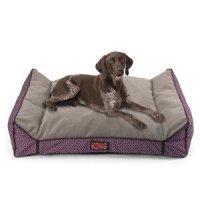 Amazon.com : KONG Lounger Dog Bed (Purple) : Pet Supplies