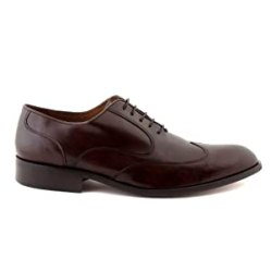 NOHARM Brown Wing Lace-up Vegan Shoes NOHR1965