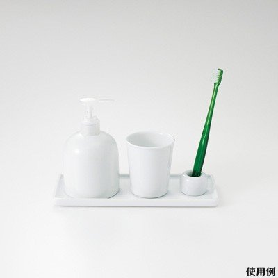 Muji White Porcelain Tooth Brush Stand White Home Garden