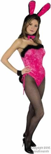 Adult Hot Pink Sexy Bunny Costume