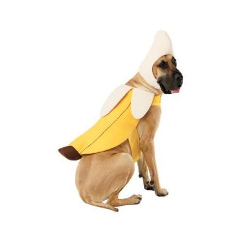 Amazon.com : Pet Costume Banana Dog Costume : Pet Supplies