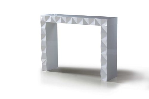 Image of Eva - White Lacquer Modern Console Table (VGDVLS207)