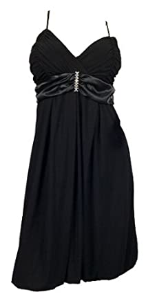 31HzEfSrHCL. SY445  Black Wrap Bodice Empire waist plus size Dress