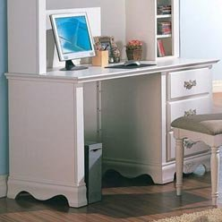 Picture of Comfortable Sophie Computer Desk with 3 Drawers by Coaster (B0051PEFDC) (Computer Desks)