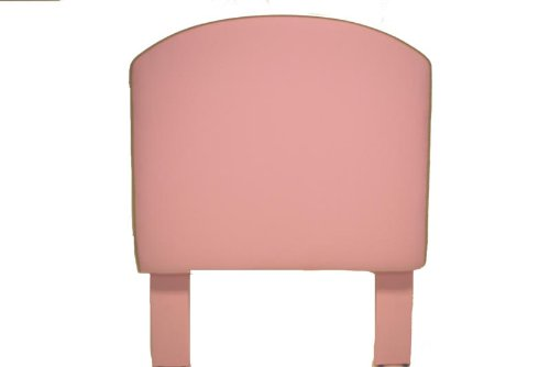 Image of Southeastern Kids Curved  Headboard Pink and Apple Green (1001/0507)