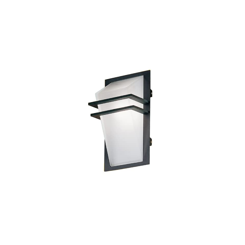 Eglo Riga Led Outdoor Wall Light Eglo 83433a Park Anthracite Frosted Opal 1 Light Wall