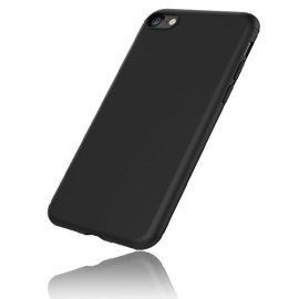 iPhone-7-Custodia-in-TPU-Nero-Opaco-EasyAcc-iPhone7-morbido-TPU-Custodia-Cover-Slim-anti-scivolo-custodia-protezione-posteriore-Cover-antiurto-per-iPhone-7