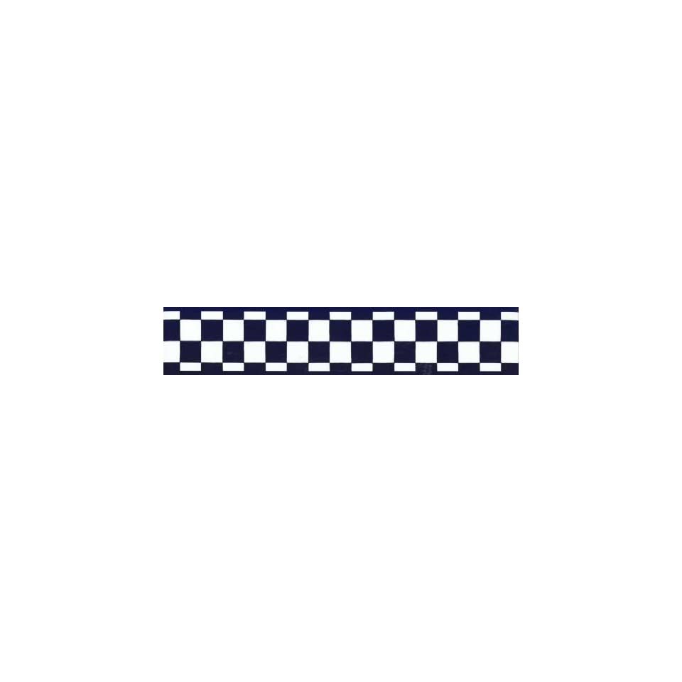 Black and white checkered flag wallpaper border joy