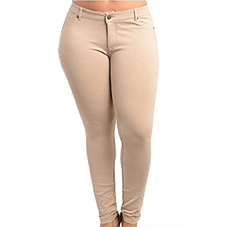 One of our favorites! A great wardrobe basic, these high waist 5 pocket style skinny stretch pants are made with a high quality stretchy soft fabric. Super comfortable! Dressed up or down, you will look great. Get a pair in every color!