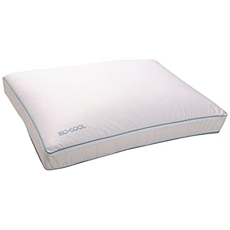 Iso Cool pillows and mattress toppers feature Outlast Adaptive Comfort material that adjusts to the body's changing temperature. The microscopic Phase Change Material (PCM) beads sense whether the body's mean temperature is too warm or too cool. If t...