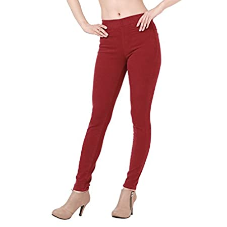 Colord skinny jeans for women that have beautiful color sense like flower and very good fabric feeling