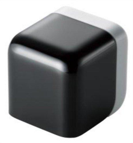 ELECOM iPod/iPhone5/4S/4/3GS/3G 対応 AC充電器 cube型 USB ブラック AVA-ACU01BK