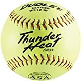 Spalding Sports: Leather Softball 4A-065Yp 2Pk