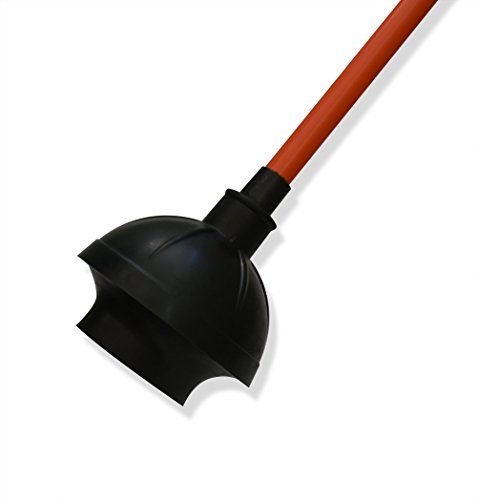 Rubber Toilet Plunger For Bathroom Sink Drain Clogs