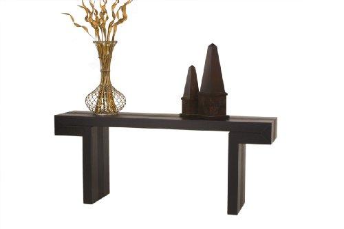 Image of Diamond Sofa Low Profile Rectangle Console Table, Dark Walnut (S0718)