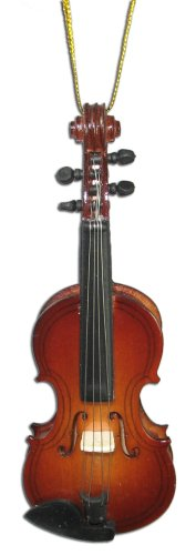 Miniature Violin Christmas Ornament 4