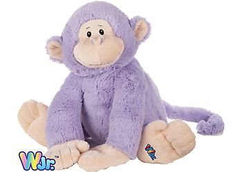 Webkinz Jr. Purple Monkey 12""