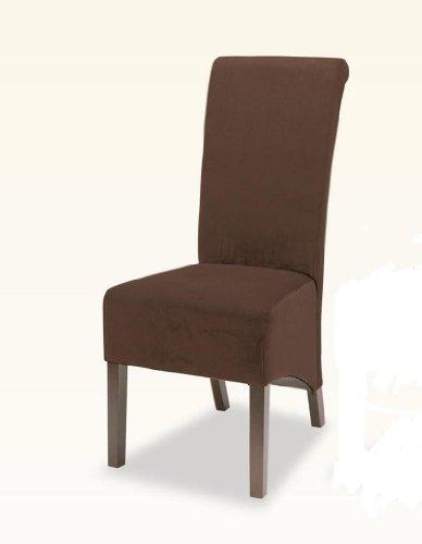 Fairfield Brown Skirted Parson Chair Set Of 2 Buy Cheap